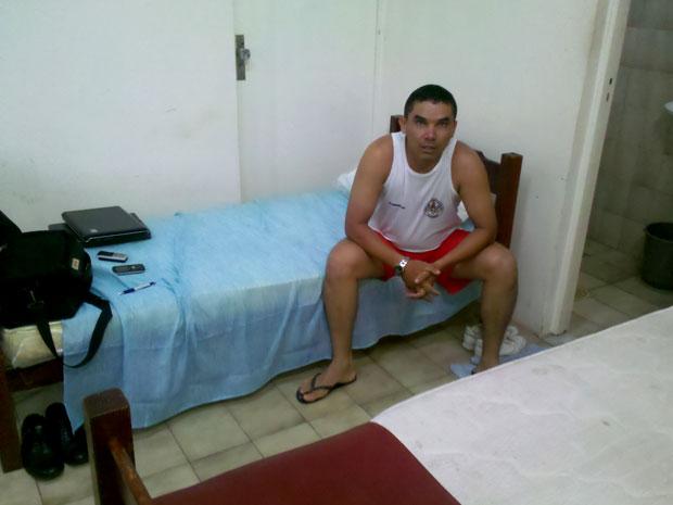 Tenente-coronel Marcelo José Ferreira Costa está preso desde terça-feira (3), em São Luís (Foto: Arquivo pessoal)