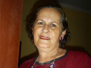Anezia Maia, mãe de Rodrigo Maia (Foto: Rodrigo Maia/VC no G1)