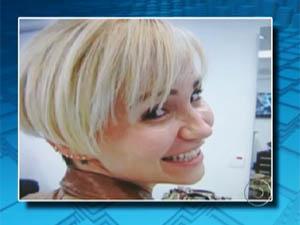 Érika Passarelli, suspeita de mandar matar o pai por um prêmio de seguro de vida (Foto: Reprodução/TV Globo)