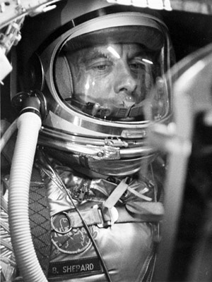 Alan Shepard 1 (Foto: Nasa / AFP Photo)