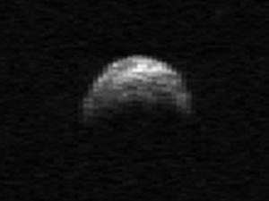Asteroide YU22 a (Foto: Nasa / Cornell / Arecibo)