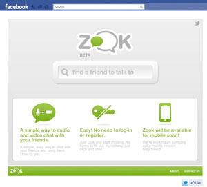 Zook Permite Conversar Com Amigos Por Meio De Vdeo Dentro Do Facebook Foto Divulgao