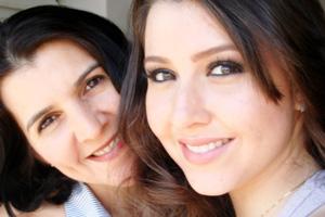 Recado dia das Mães (Foto: Fernanda Castro Nascimento/VC no G1)