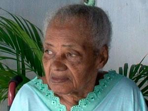 Família de idosa baiana reivindica título de mulher mais velha do mundo (Foto: Reprodução/ TV Subaé)