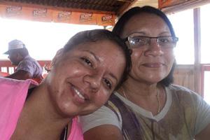 Recado dia das Mães (Foto: Liliane Silva/VC no G1)