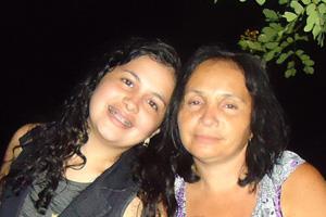 Recado dia das Mães (Foto: Lucélia Diniz Bezerra/VC no G1)
