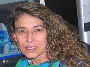 Maria Docarmo V Monteiro está em Brasília (Foto: Maria Docarmo V Monteiro/VC no G1)