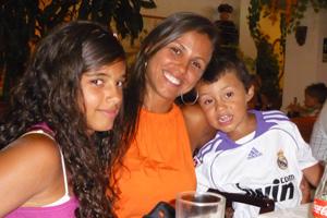 Recado dia das Mães (Foto: Tatiane Fernandes da Silva/VC no G1)