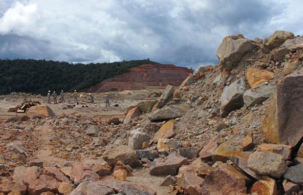 Mina de Pitinga (AM) é responsável por 40% da produção nacional de tântalo (Foto: Laura Brentano/G1)