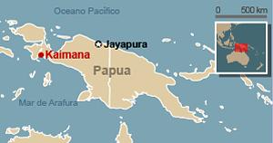 mapa acidente indonesia (Foto: ;)