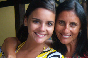 Recado dia das mães (Foto: Thaís Pedrazzi/VC no G1)