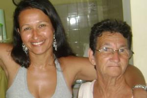 Recado dia das mães (Foto: Lindinelia Mascarenhas Santana/VC no G1)