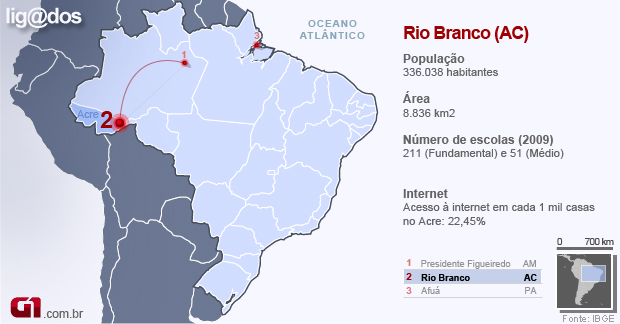 Rio Branco - ligados (Foto: Editoria de Arte/G1)