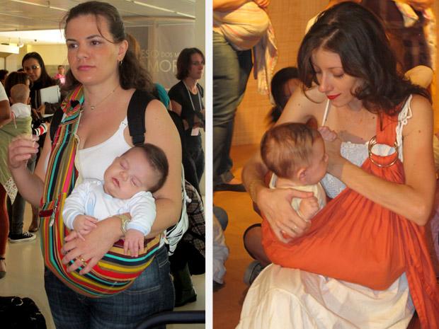 Cerca de 30 mães participaram do encontro na tarde desta quinta-feira, em São Paulo (Foto: Glauco Araújo/G1)