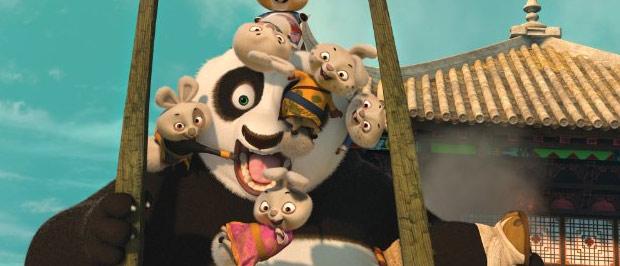 Cena do novo 'Kung Fu Panda' (Foto: Divulgação/IMDB)