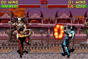 Cena de 'Mortal Kombat II' (Foto: Divulgação)