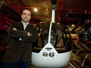 Empresário já tem um avião e comprou mais duas cotas de consórcio para um avião e outro helicóptero (Foto: Flávio Moraes/G1)