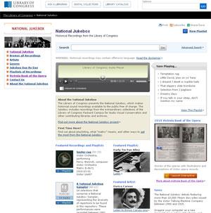 Acervo musical da biblioteca do Congresso norte-americano (Foto: Reprodução)