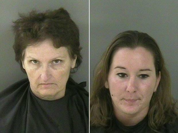 Janice Kay e Ashley Ann Ramirez foram acusadas de crueldade contra os animais (Foto: Divulgação)