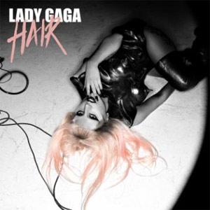 Capa de 'Hair', novo single de Lady Gaga (Foto: Divulgação)