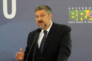 O ministro-chefe da Casa Civil, Antonio Palocci, na reunião do Conselho de Desenvolvimento Econômico e Social, no fim de abril (Foto: Wilson Dias / Agência Brasil)
