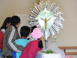Velório de criança aconteceu nesta terça-feira (Foto: Salmo Duarte/Agência RBS)