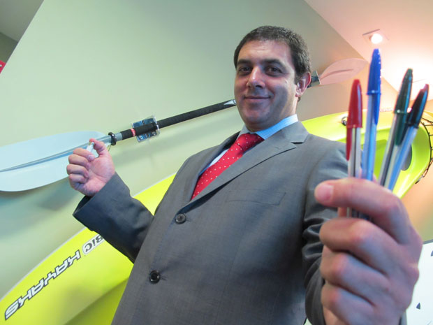 Horácio Balseiro, presidente da BIC Brasil (Foto: Darlan Alvarenga/G1)