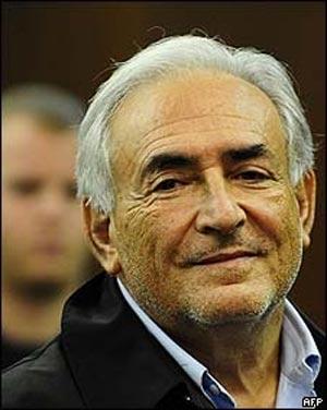 O diretor-gerente do FMI, Dominique Strauss-Kahn (Foto: AFP)