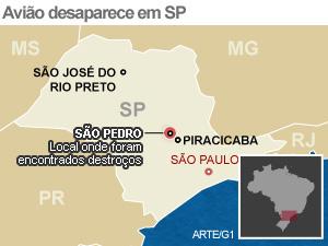 Mapa (Foto: SP)
