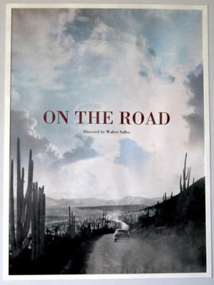 Primeito cartaz divulgado do filme 'On the road', dirigido por Walter Salles e baseado no livro de Jack Kerouac (Foto: Divulgação)