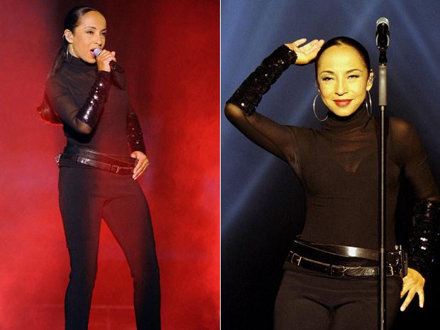 """A cantora e compositora anglo-nigeriana Sade se apresentou na noite desta segunda-feira (16) em Zurique, na Suíça. Ela cantou músicas de seu álbum mais recente, """"Solider of love"""", lançado em 2010. Além das canções mais recentes, o repertório do show conta com hits anteriores dos anos 1980, como 'Smooth operator', do álbum 'Diamond life' (1984). (Foto: AP)"""