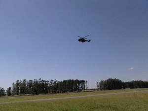 helicoptero piracicaba (Foto: Juliana Cardilli/G1)