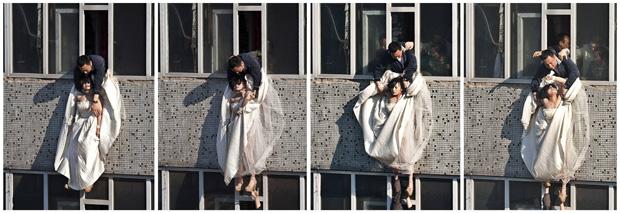 noiva china sequência (Foto: China Daily / Reuters)