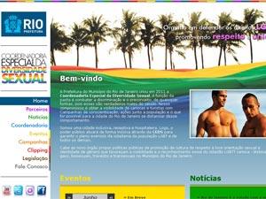 Site Gay  (Foto: Divulgação/Prefeitura do Rio)