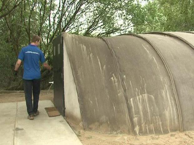 Tenda concreto 1 (Foto: BBC)