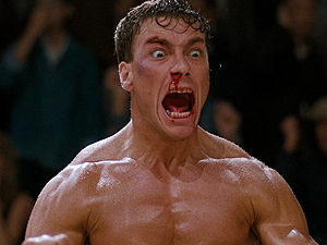 Jean Claude Van Damme, no filme original de 1988 (Foto: Divulgação)