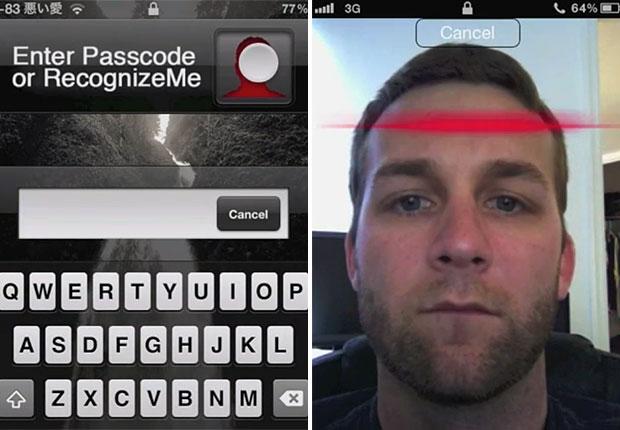 Aplicativo RecognizeMe dá a opção ao usuário de usar o reconhecimento facial para destravar iPhone (Foto: Reprodução)