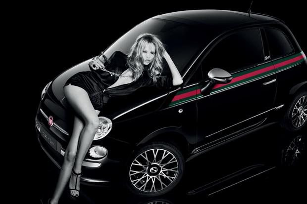 Fiat 500 by Gucci celebra 150 anos da unificação da Itália e 90 anos da grife italiana (Foto: Divulgação)