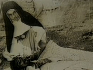 Religiosa dedicou vida ao acolhimento de pobres e doentes (Foto: Reprodução/TV Globo)