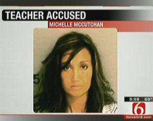 Professora Michelle McCutchan (Foto: Reprodução)