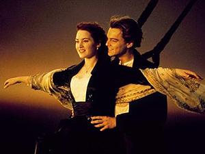 Leonardo DiCaprio e Kate Winslet em 'Titanic' (Foto: Divulgação)