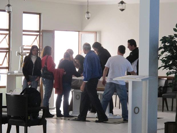 velorio estudante usp (Foto: Juliana Cardilli/G1)