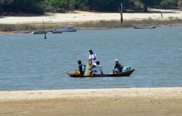Comunidade ribeirinha na reserva extrativista Tapajós-Arapiuns vive à base da pesca (Foto: Divulgação/ICMBio)
