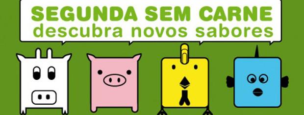Logotipo da Segunda Sem Carne (Foto: Reprodução)