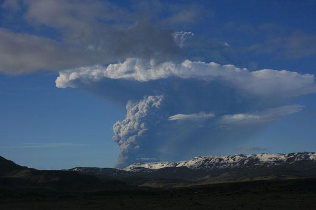 Vulcão Islândia (Foto: AP)