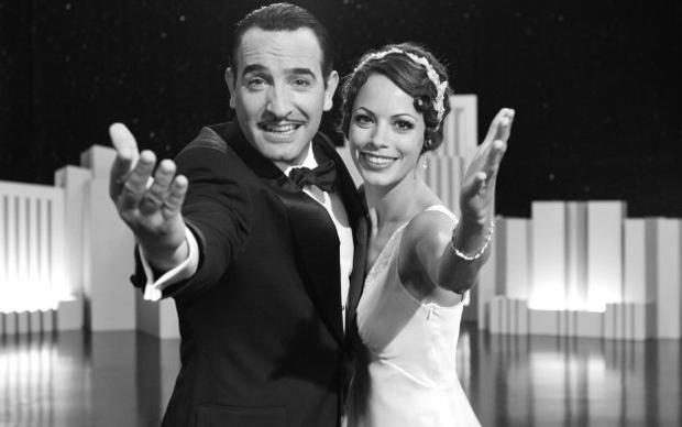 """Os atores Bérénice Bejo e Jean Dujardin - premiado em Cannes - em cena de """"The artist"""".  (Foto: Divulgação)"""