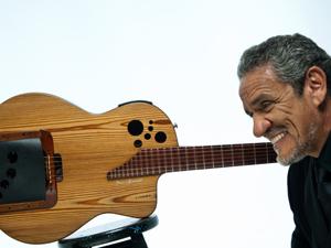 O cantor Zé Ramalho era chamado de 'Bob Dylan do sertão' (Foto: Dario Zalis/Divulgação)