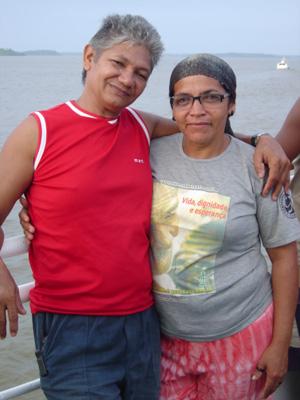 Casal de ambientalistas morto a tiros em estrada no Pará (Foto: Divulgação/Arquivo CNS)