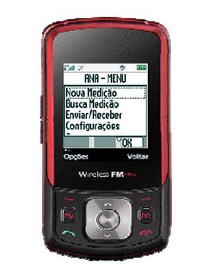 Software instalado em celular vai permitir medição de chuva (Foto: Divulgação/Semarh)