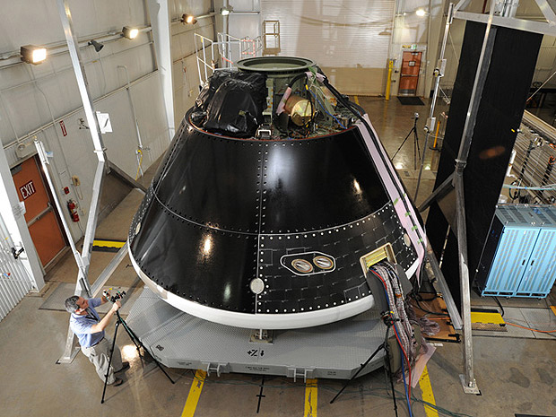 Nasa anuncia novo sistema de transporte no lugar de ônibus espacial Novanave_lockheed-martin_na